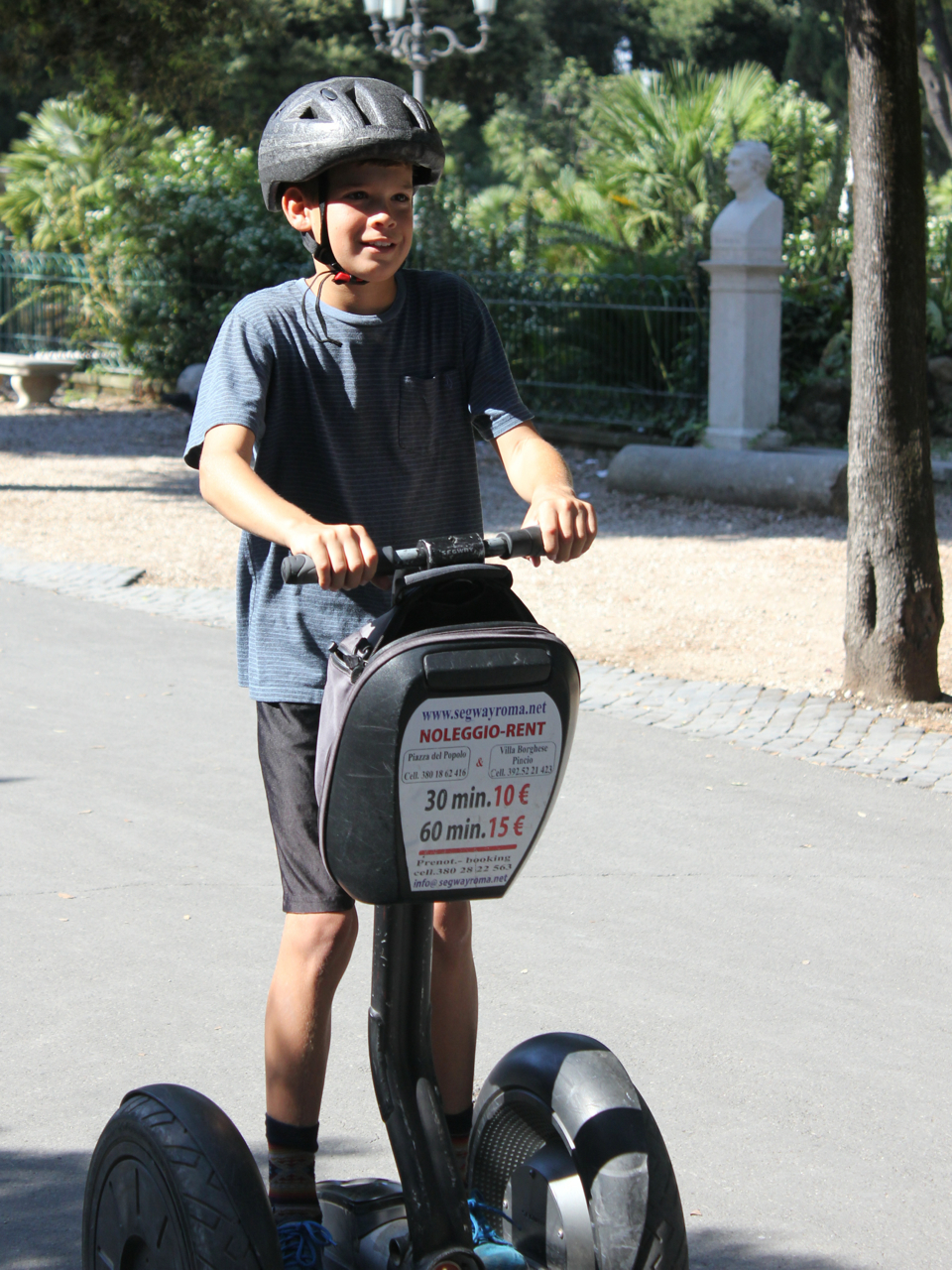 Grant on a Segway